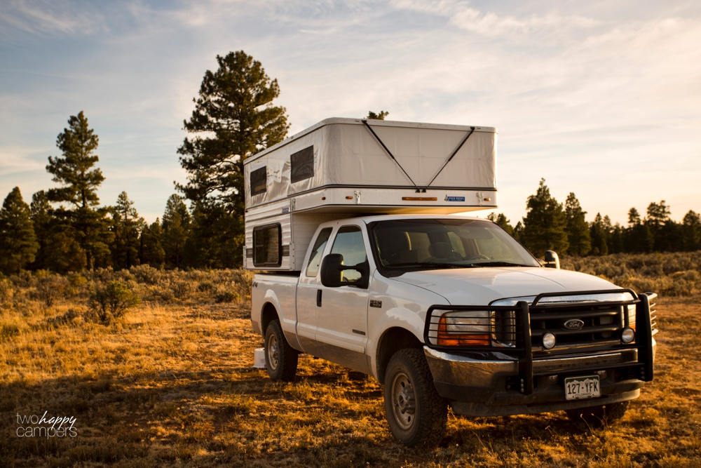 Why Four Wheel Camper is the perfect truck camper for us | Two Happy