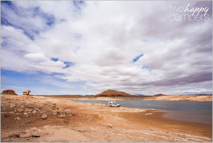 Lake Powell boondocking