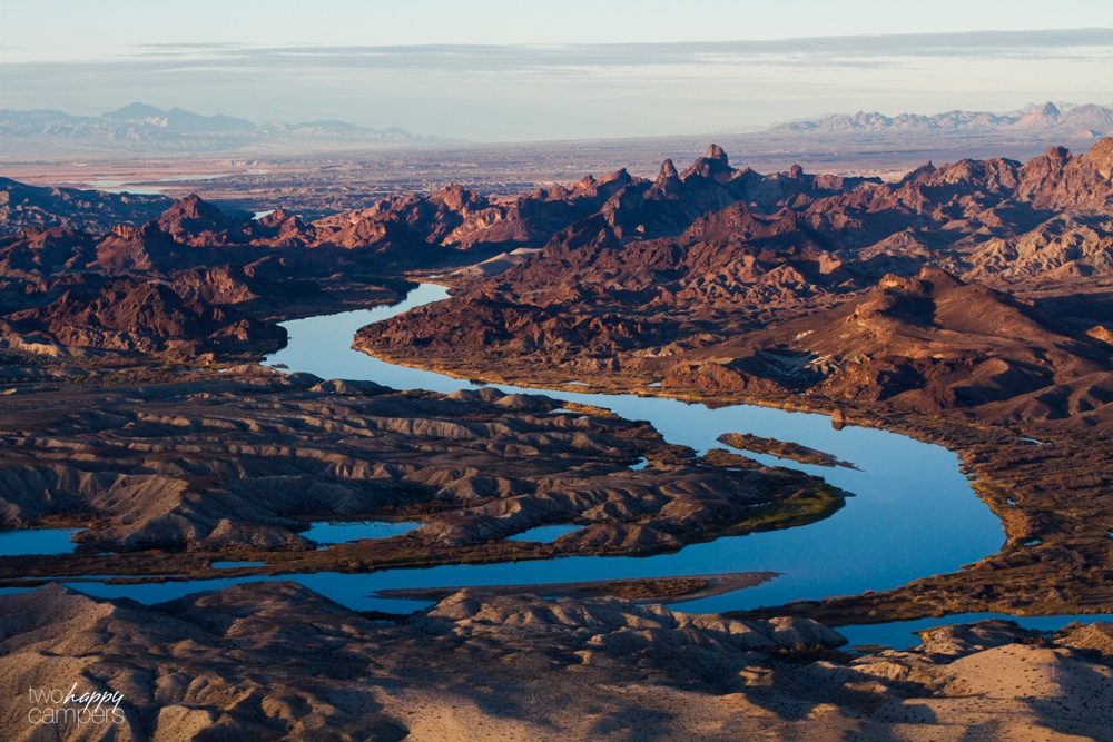 Colorado River aerial photograph