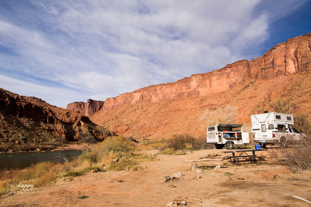 big bend campground moab