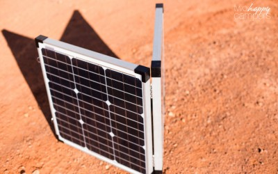 Portable Folding Solar Panel: Zamp Solar