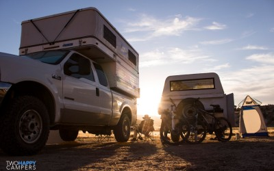40 days in our Four Wheel Camper: McInnis Canyons, CO