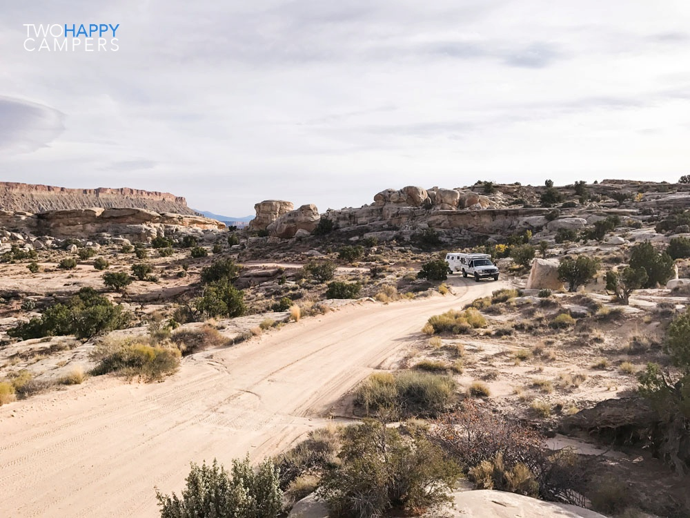 40 Days in our Four Wheel Camper: Caineville, Utah
