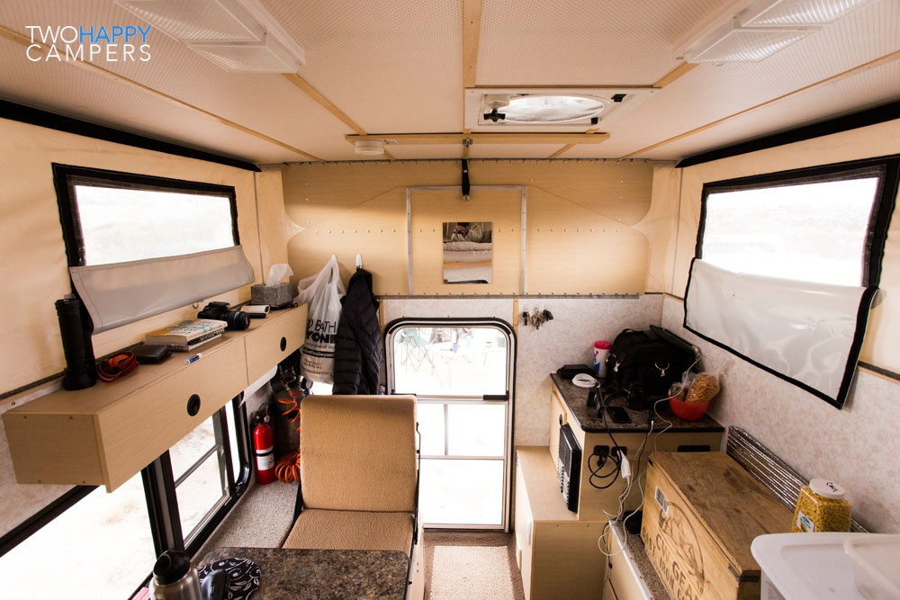 four wheel camper truck camping