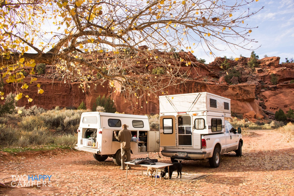 40 days in our Four Wheel Camper: Burr Trail, UT