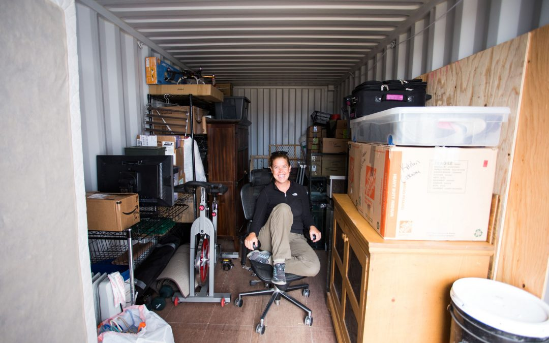 decluttering for RV living