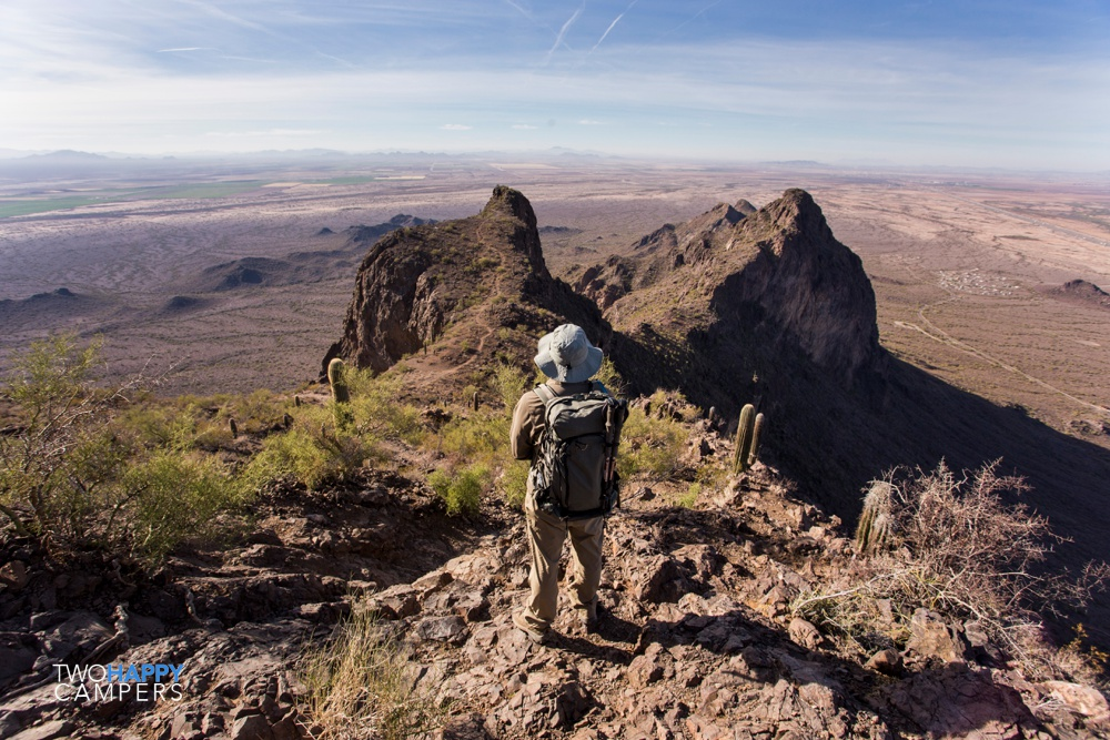 Getting an adrenaline rush @ Picacho Peak State Park